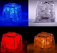 LED Color Change Ice-cube Shaped Light Halloween Props