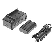 OEM-Nik EN-EL15 1900mAh 7V Battery for Nikon D7000/D7100/1V1/D800/D800E/D600/P520/P530 with Car Charger