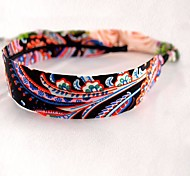 Bohemian Ethnic Style Floral Fabric Headbands