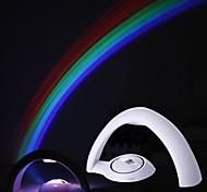 rainbow llevó luz de noche de proyección