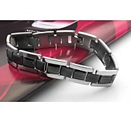 Men's Fashion Personality Titanium Steel The Great Wall Lines Bracelets