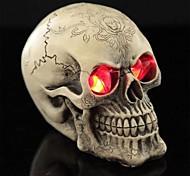 трюк светодиоды световой печати глаза смолы черепа для Хэллоуина (1 шт)