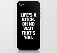 Life Pattern Hard Case for iPhone 5/5S