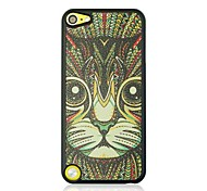 The cat Leather Vein Pattern Hard Case for iPod touch 5