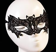 Fashion Chiropter Pattern Lace Party Mask