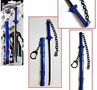 blu esorcista Okumura rin chiave blu accessori catena cosplay