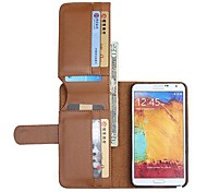 NEW Leather Wallet Full Body Cases for SAMSUNG Galaxy Note 3(Assorted Colors)