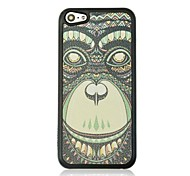 Orangutan Leather Vein Pattern Hard Case for iPhone 5C