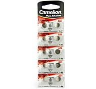 Camelion 1.5V AG6 Alkaline Button Battery (10pcs)