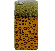 Nice Beer Plastic Hard Back Cover for iPhone 6 Plus
