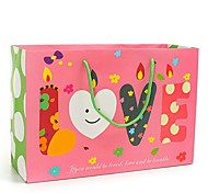 Coway 34*12*23 Exquisite Christmas Gift Foundation LOVE Candle Party Paper Gift Bag