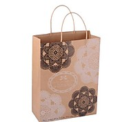Coway 35*26.5*11.5 Environmentally Friendly Gifts Kraft Paper Bag Gift Bags(Random Color)