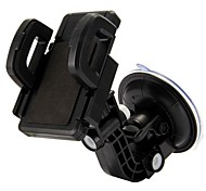 xp-f 360 giratoria universal del coche del teléfono móvil titular de soporte ajustable para el iphone de Samsung HTC y otros