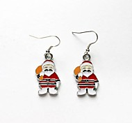 Santa Claus Christmas Gift Earrings