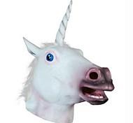 Unicorn Animal  Latex Halloween Mask