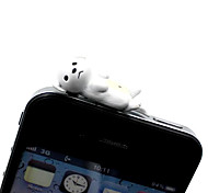 Labrador Dog Shaped 3.5mm Earphone Jack Anti-dust Plug for iPhone , iPad , Samsung & Others Smart Phone
