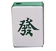 Creative Mahjong Style  Metal  Butane Jet Gas Lighter