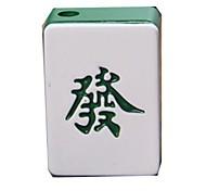 criativo estilo mahjong gás jato de metal butano
