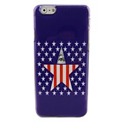 Beautiful Star Plastic Hard Back Cover for iPhone 6
