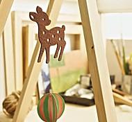 Christmas Ornaments 1Pc Coffee Deer  P-11-C002-B