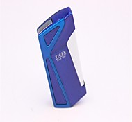 Adult Blue And Sliver Metal Lighters Toys