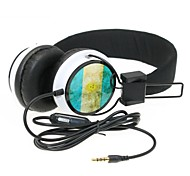 WZS- Ergonomic Hi-Fi Stereo Headphone with Mic Microphone -Argentina Flag - Black