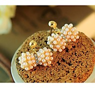 Love Is Your Fashion Exquisite Pearl Bow Earrings