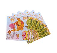 Coway 30*30*1 20 pcs/Package Undersea Stroll Huan Children's Birthday Party Party Supplies Paper Napkin