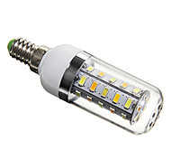 5W E14 LED Corn Lights T 36 SMD 5730 350 lm Natural White AC 220-240 V