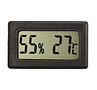LCD Indoor Outdoor Digital Thermometer Temperature Meter Gauge Black