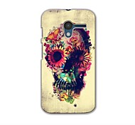 lora Skeleton Shape Design Hard Case for Motorola X phone