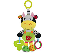 Babyfans ™ Baby Cute Cow Cartoon Stuffed Music Toys