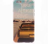 caso duro di disegno da auto per iPhone 6 Plus