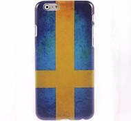 Swedish Flag Design Hard Case for iPhone 6 Plus