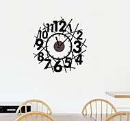 ZOOYOO® DIY cute Electronic battery timekeeper wall clock wall sticker home decor for you living room