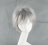 APH Hetalia Movie Gilbert Beillschmidt Silver Grey Short Cosplay Wig