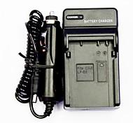 chargeur de batterie de l'appareil avec un chargeur de voiture pour Canon LP-E8 (100v-240v)