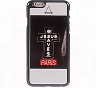 Jesus Saves Paris Design Aluminum Hard Case for iPhone 6
