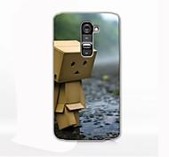 Water Wooden Man Design Hard Case for LG G2