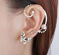 Earring Stud Earrings / Ear Cuffs Jewelry Women Party / Daily Alloy 1pc Gold