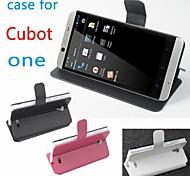 moda in pelle copertura di caso di vibrazione per cubot una sinistra a destra smartphone a 3 colori
