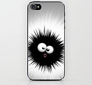 cas dur de modèle de monstre noir pour iphone 5/5 ans