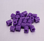 Perler Beads(Purple 5MM Beads)(500 Pcs)