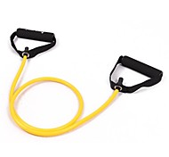 Yellow Tube Elastic String Sliming Fitness Yoga Resistance Bands Fitness
