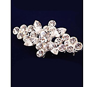 Fashion Cute Crystal Imitation Diamond Gold Plated Brooch for Women In Jewelry