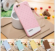 Colorful 3D Soft Silicone Chocolate Ice Cream Case for iPhone6 (Assorted Color)