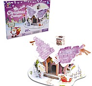 The Christmas Gift Smart House Angel Cottage 3D Puzzles(20PCS)