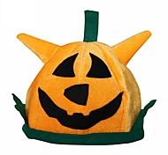 chapéu de festa laranja abóbora de Halloween