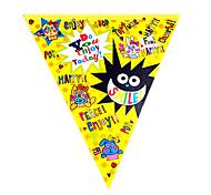 Big Bang Cartoon Dog Flag Banner Party Accessory