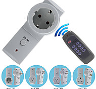 Wireless UK/AU/EU/US Plug AC Power Outlet Mains Socket with Remote Controller